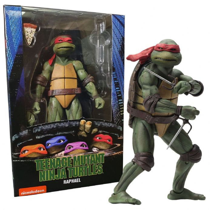 NECA TMNT Teenage Mutant Ninja Turtles 1990 Movie Action Figure – Raphael | Buy now at The G33Kery - UK Stock - Fast Delivery